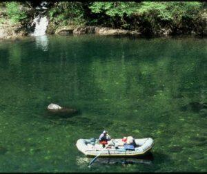 rafting on Illinois River